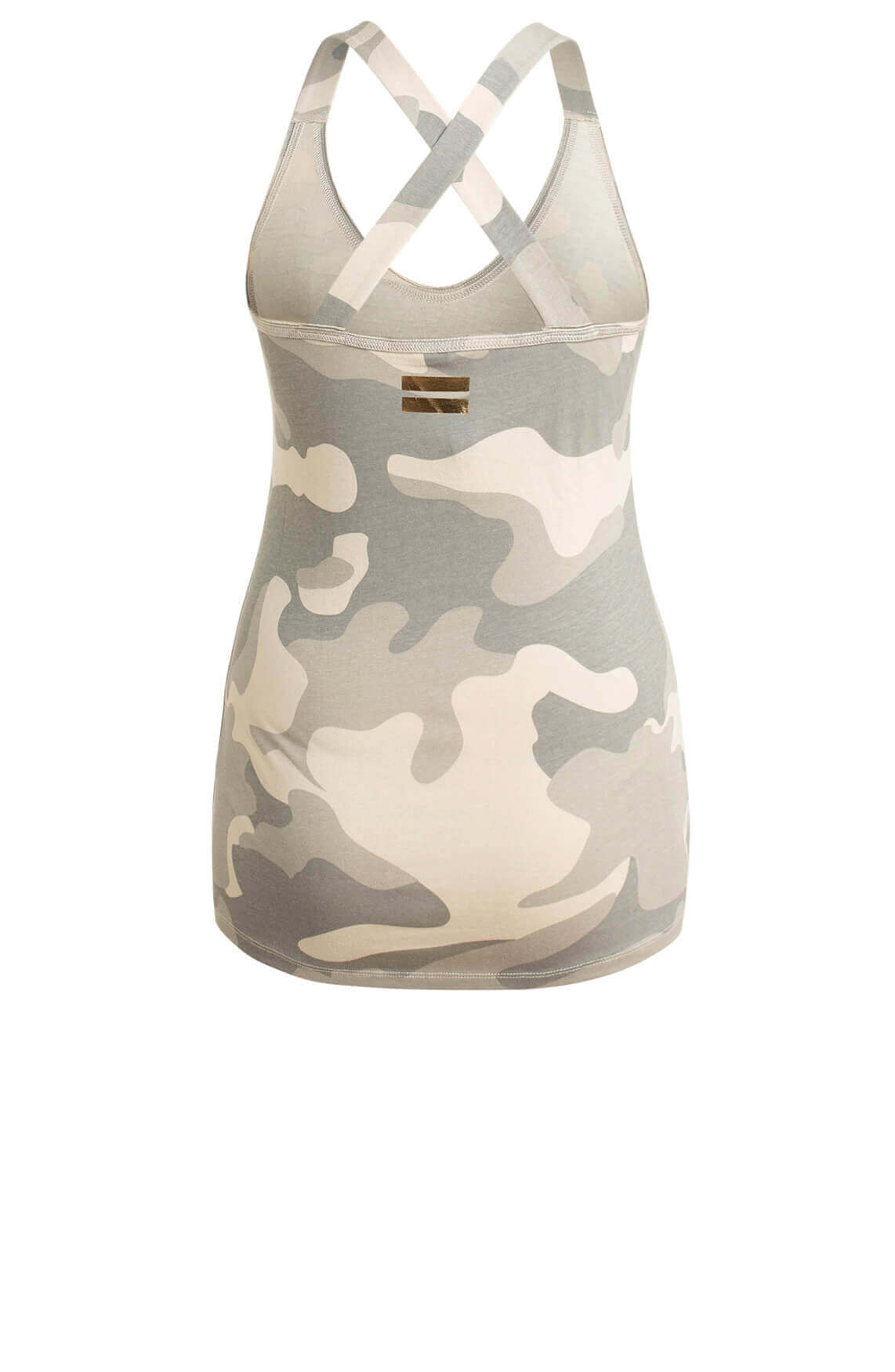 10 Days Dames Camouflage top groen