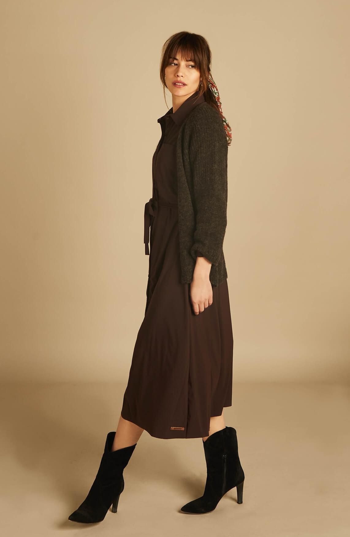 Moscow Dames Marisha vest Bruin