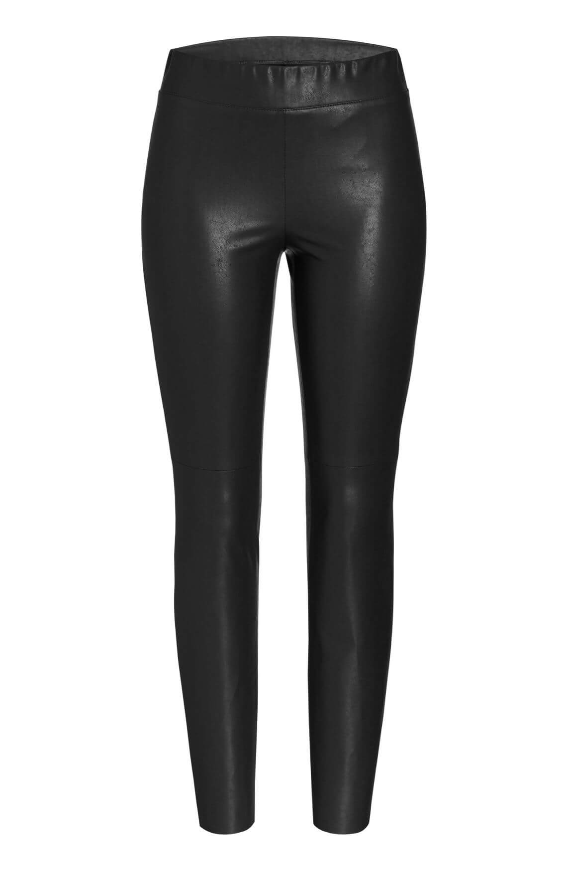 Cambio Dames Broek fake leather zwart
