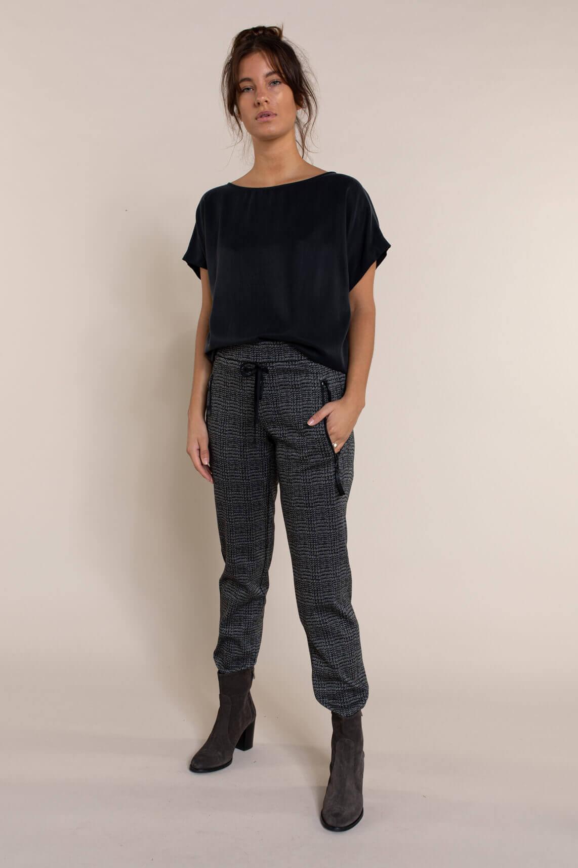 Cambio Dames Jessy jogpantalon zwart