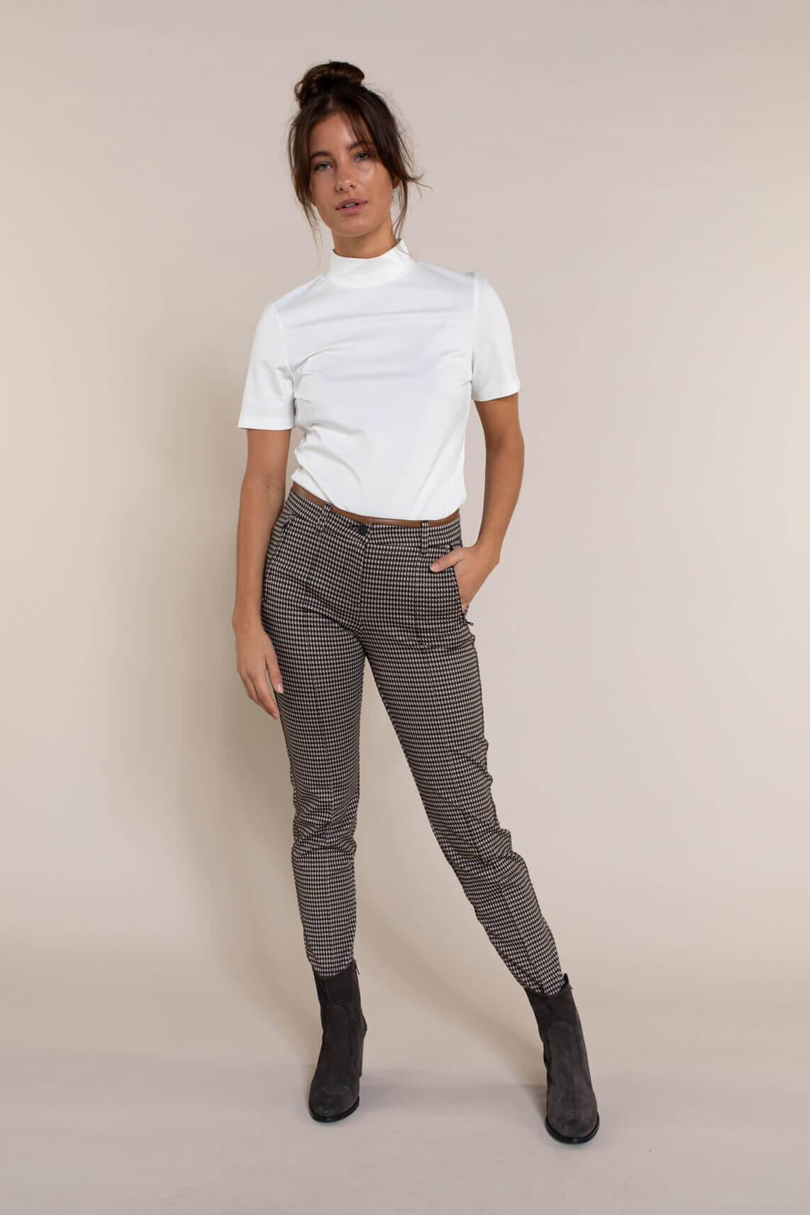Cambio Dames Rhona pantalon Bruin