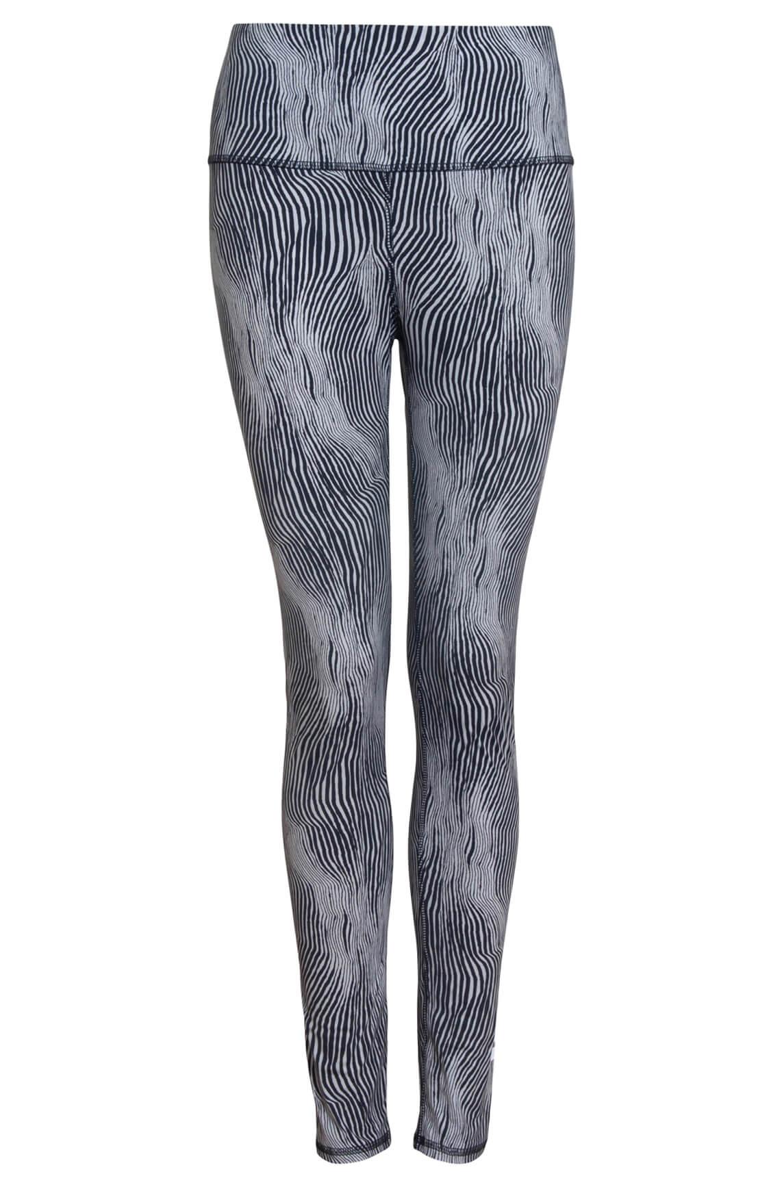 10 Days Dames Zebra legging zwart