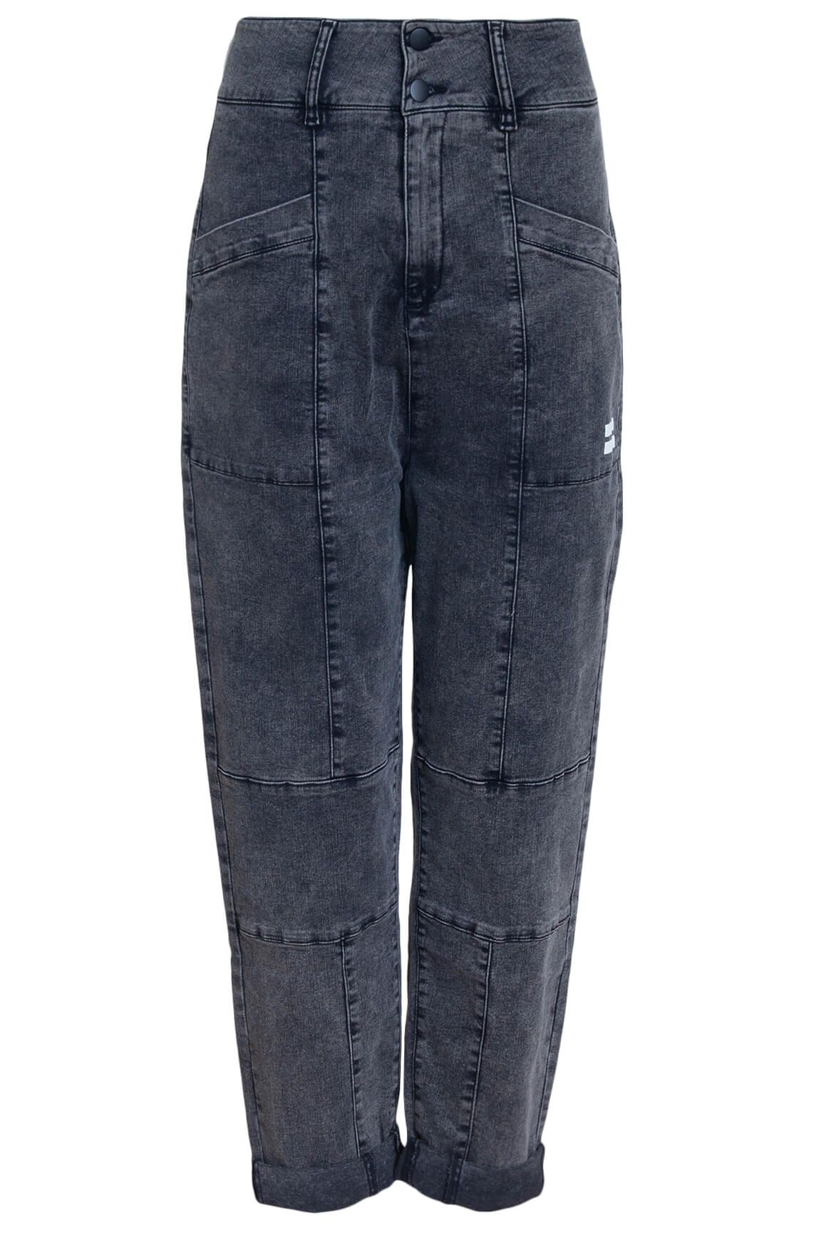 10 Days Dames Washed jeans Grijs
