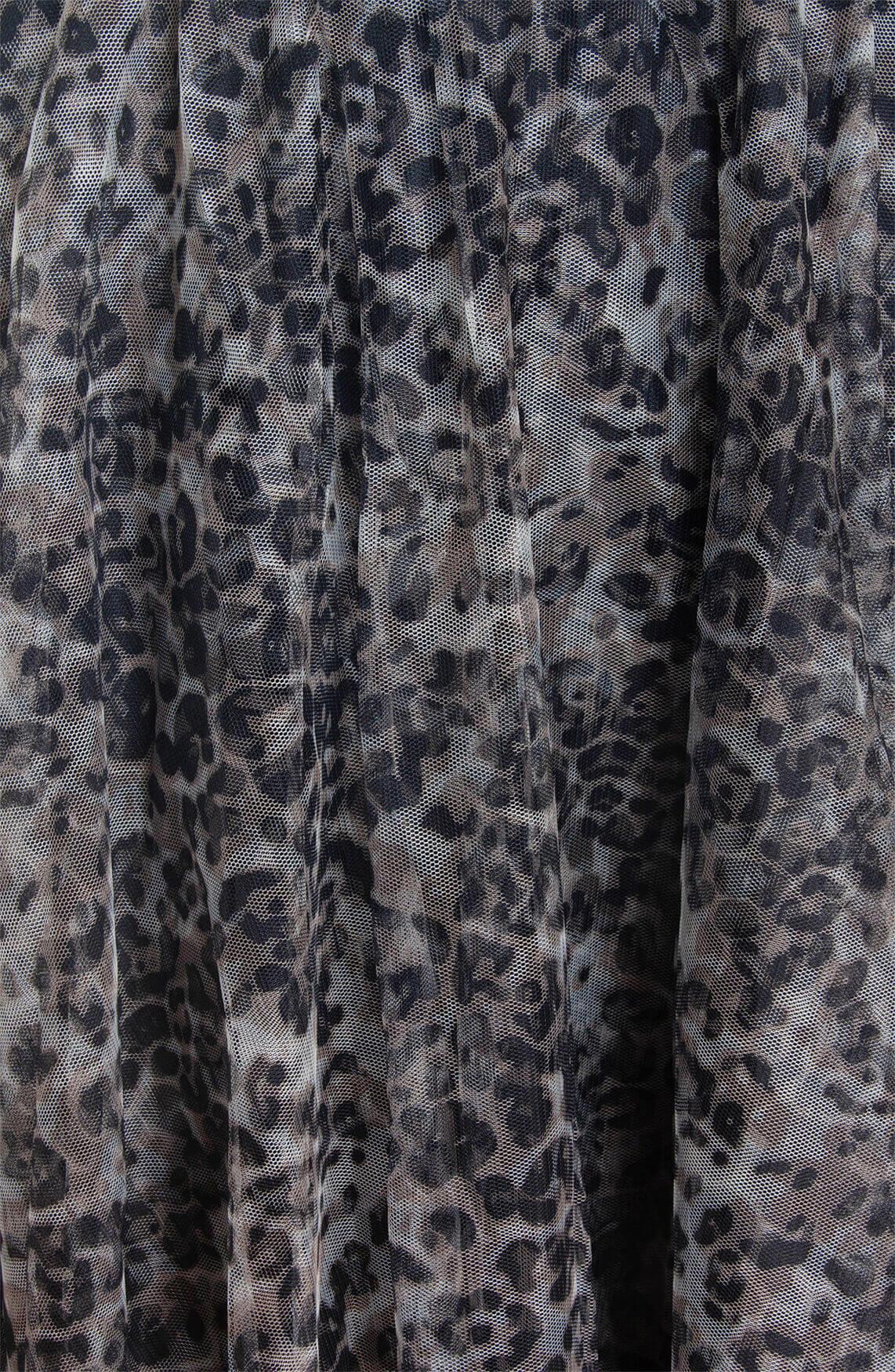 10 Days Dames Tule leopard rok Bruin