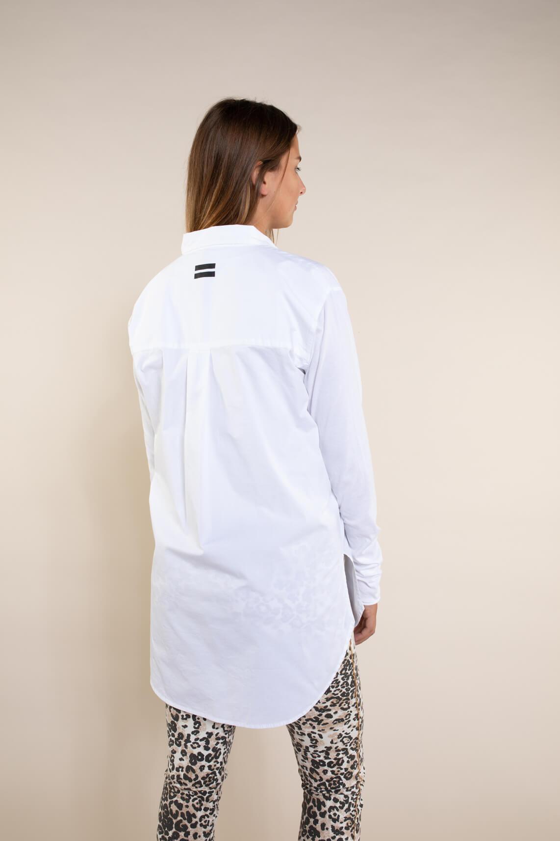 10 Days Dames Poplin blouse wit