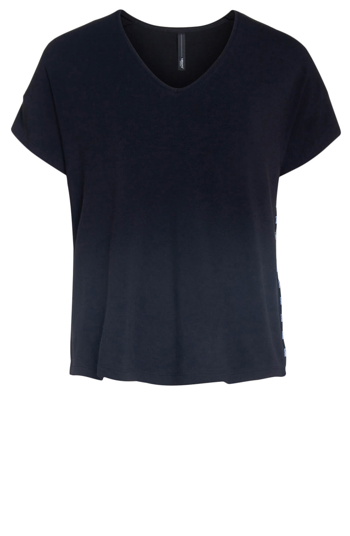 10 Days Dames Soft shirt zwart