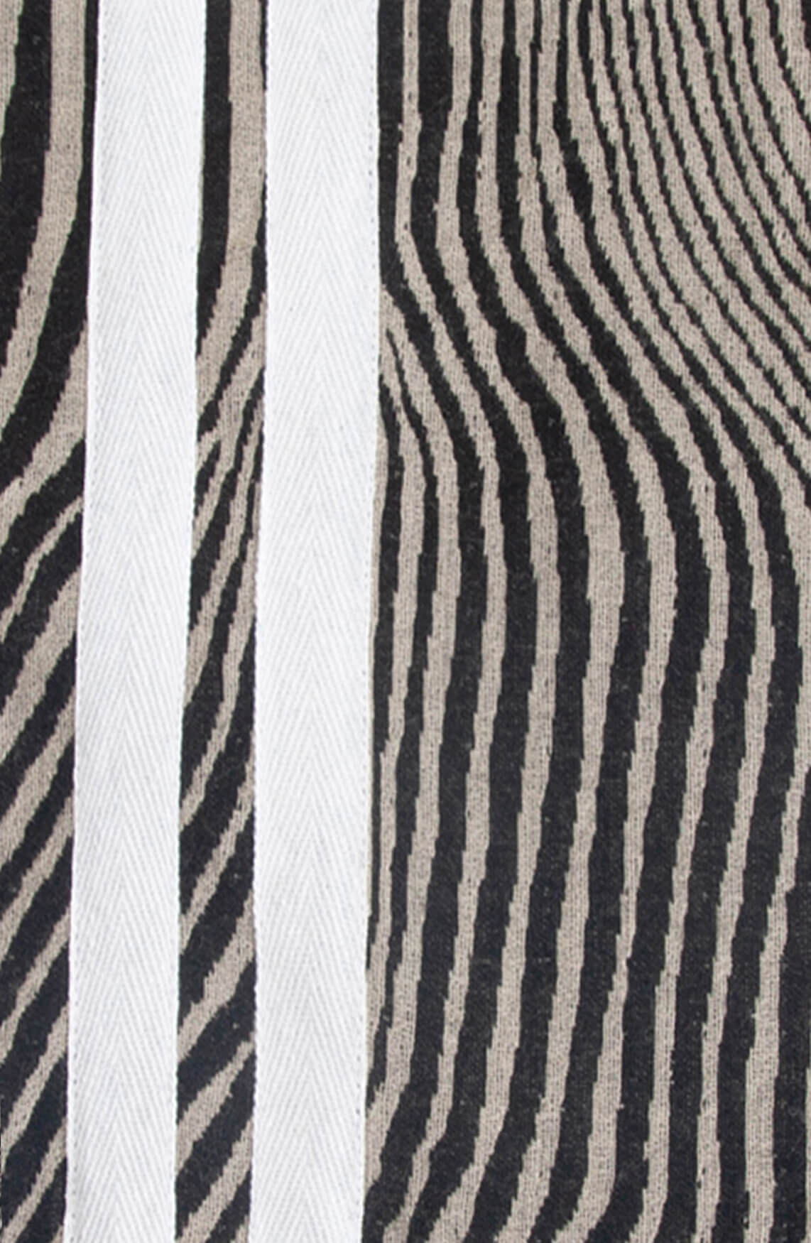 10 Days Dames Zebra shawl zwart