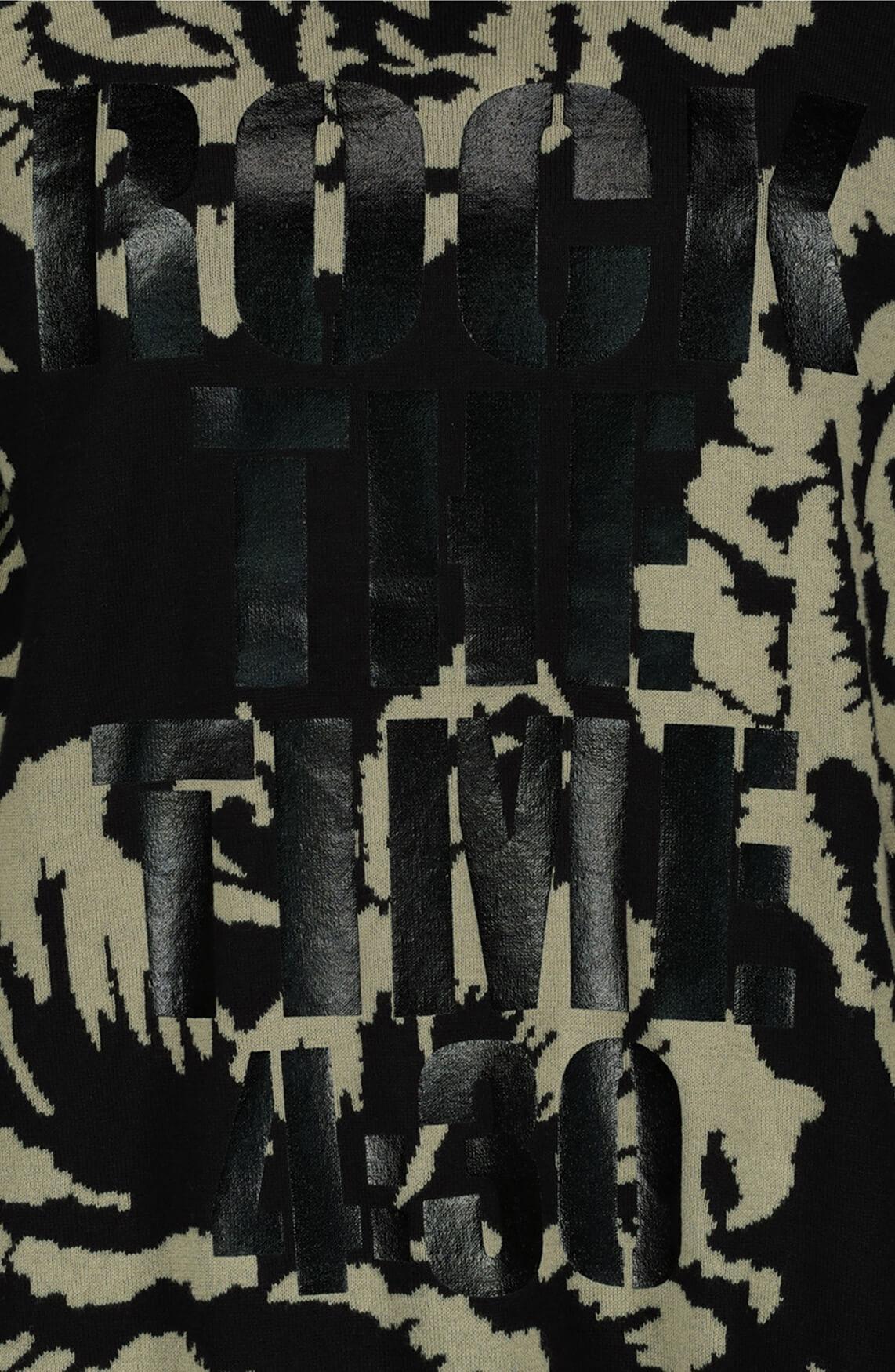 Monari Dames Cargo pullover zwart