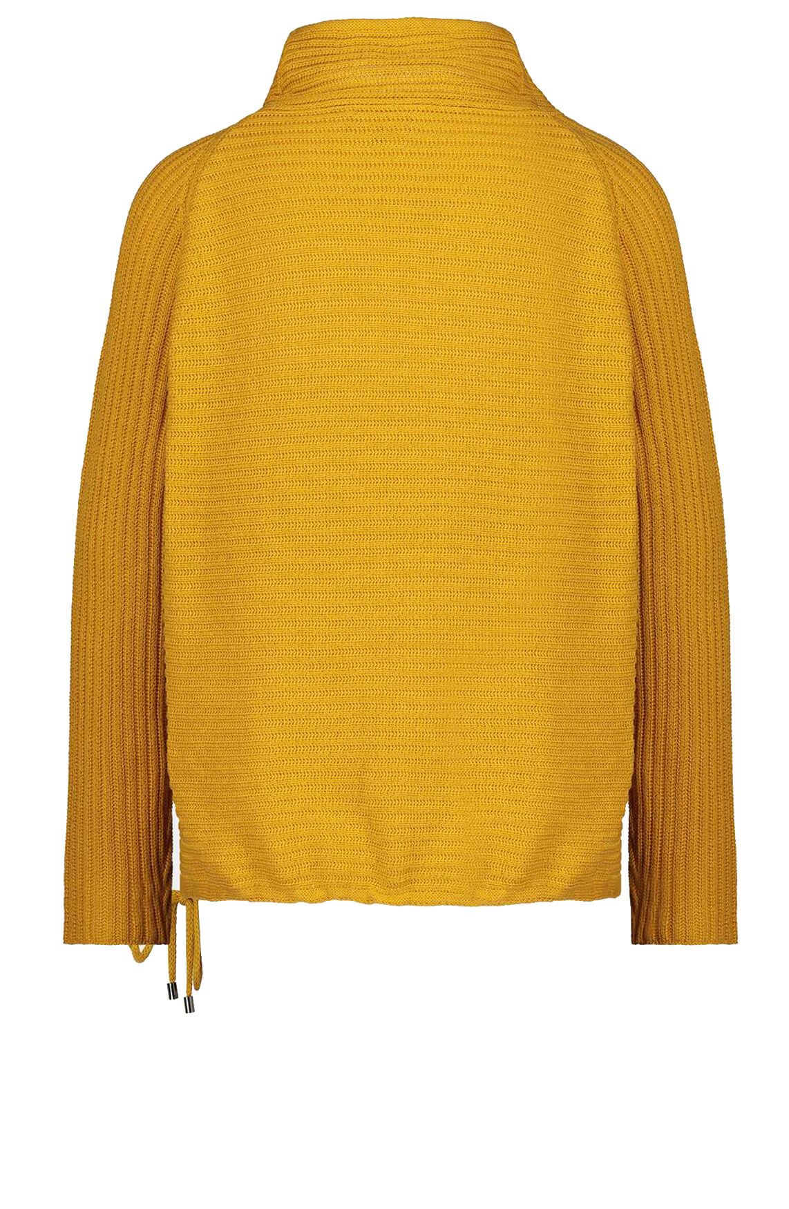 Monari Dames Pullover met col geel