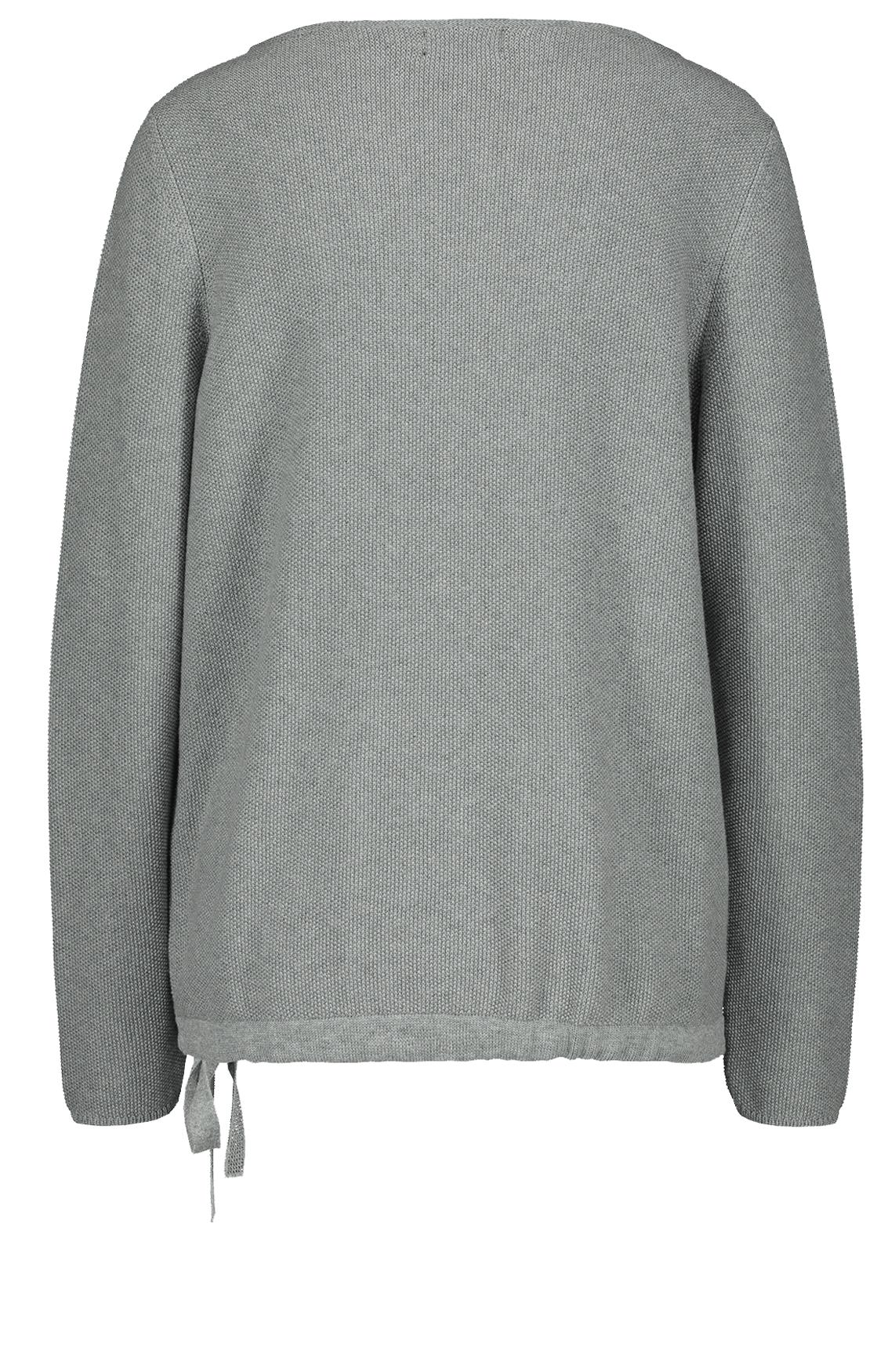 Monari Dames Pullover met koord Grijs