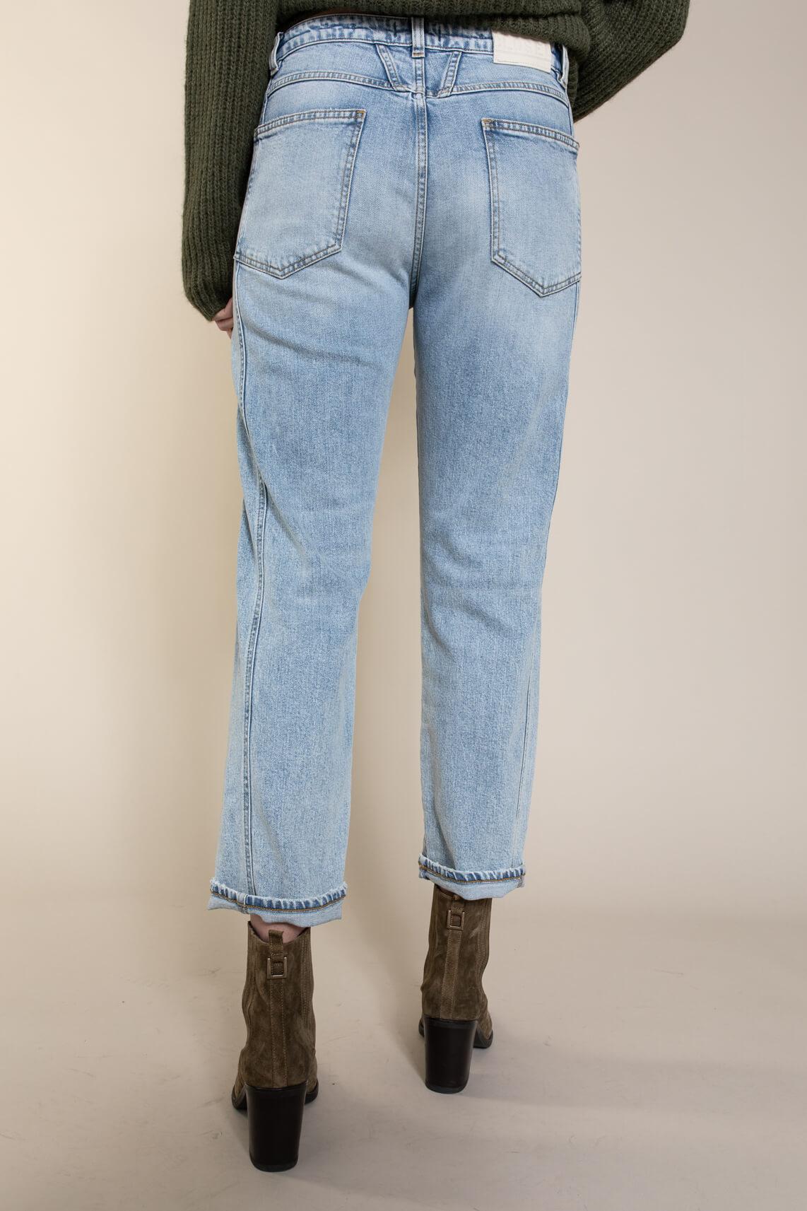 Closed Dames Jeans slim fit mid waist Blauw