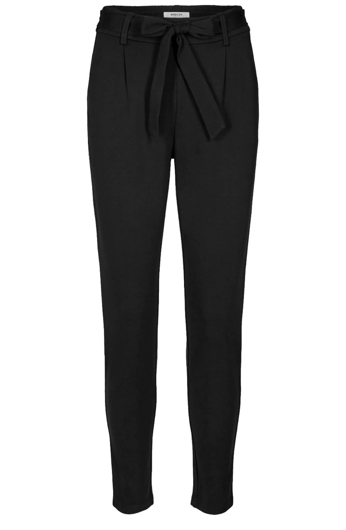 Moss Copenhagen Dames Popye jersey broek zwart