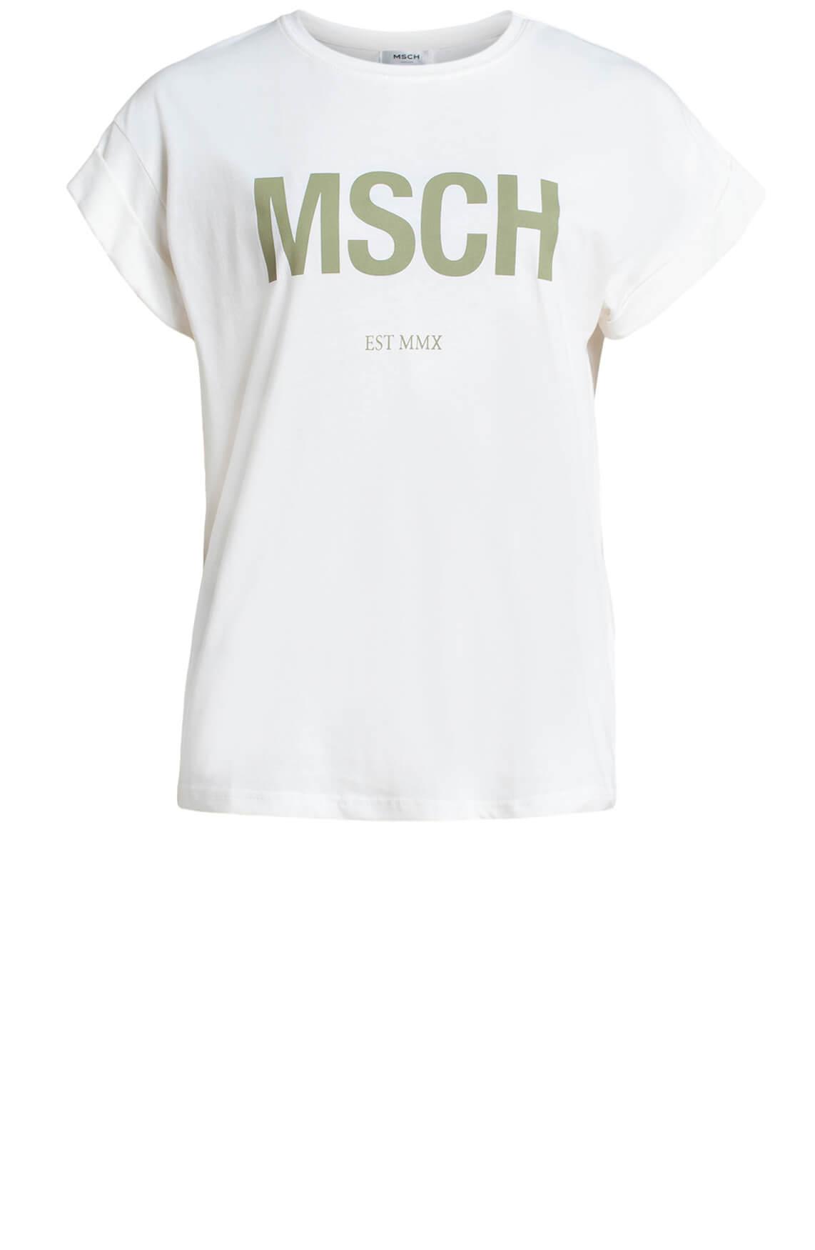Moss Copenhagen Dames Alva MSCH shirt groen