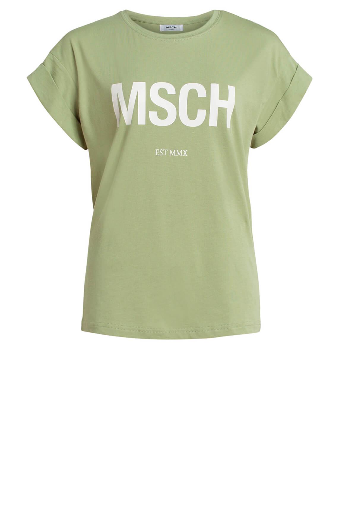 Moss Copenhagen Dames Alva MSCH shirt wit