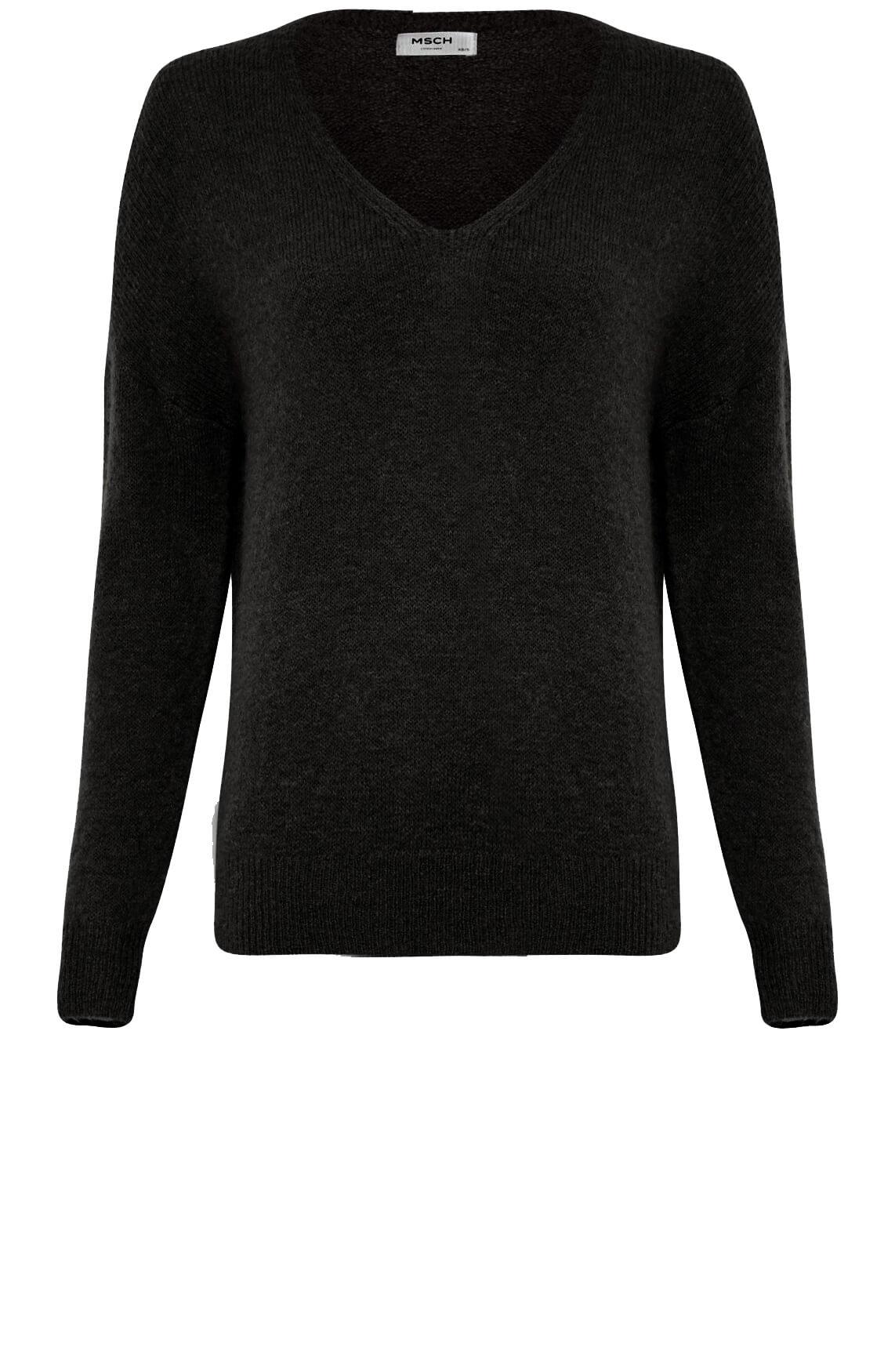 Moss Copenhagen Dames Femme pullover zwart