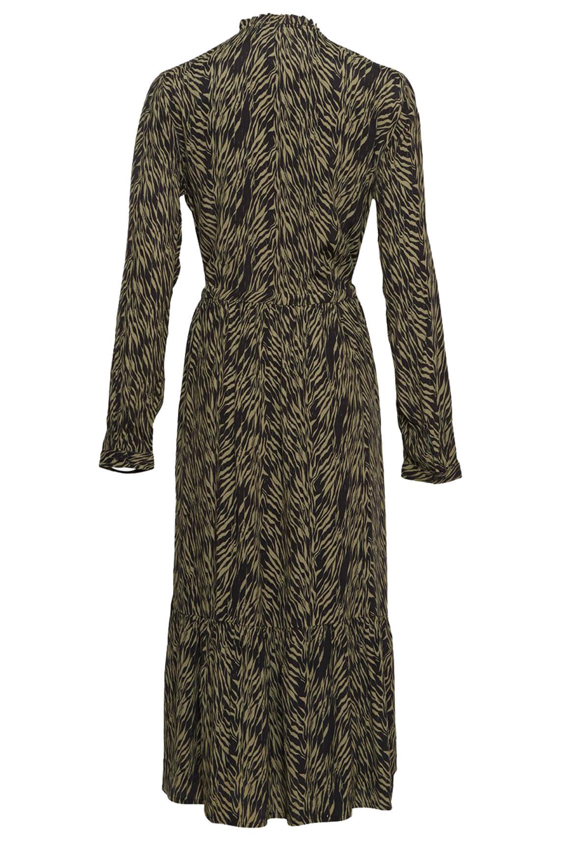 Moss Copenhagen Dames Calie jurk groen