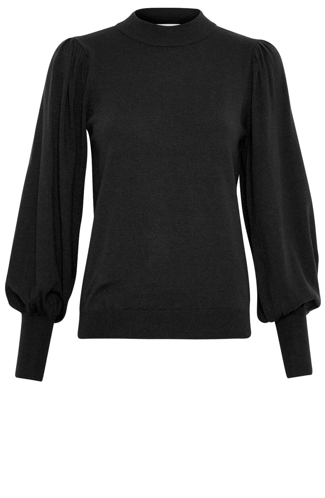Moss Copenhagen Dames Talma Helena pullover zwart