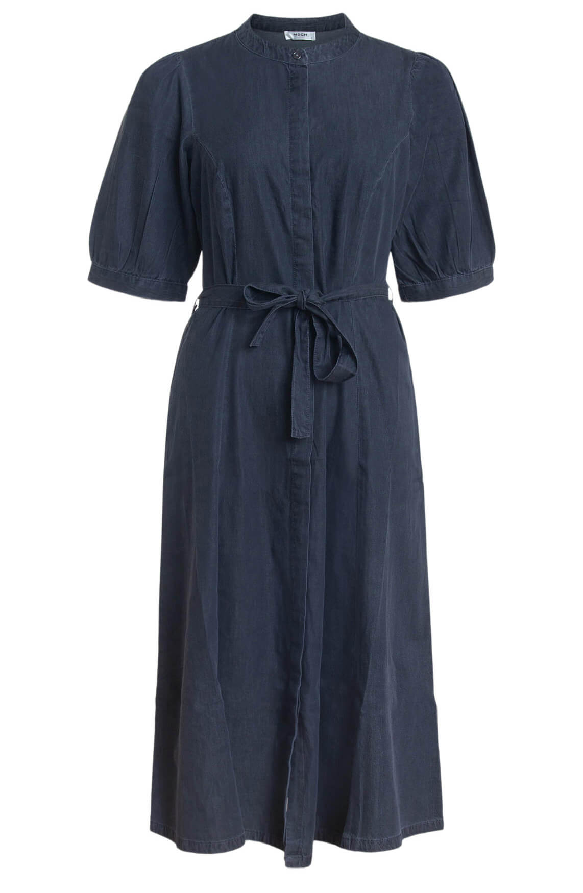 Moss Copenhagen Dames Fanella Lyanna jurk Grijs