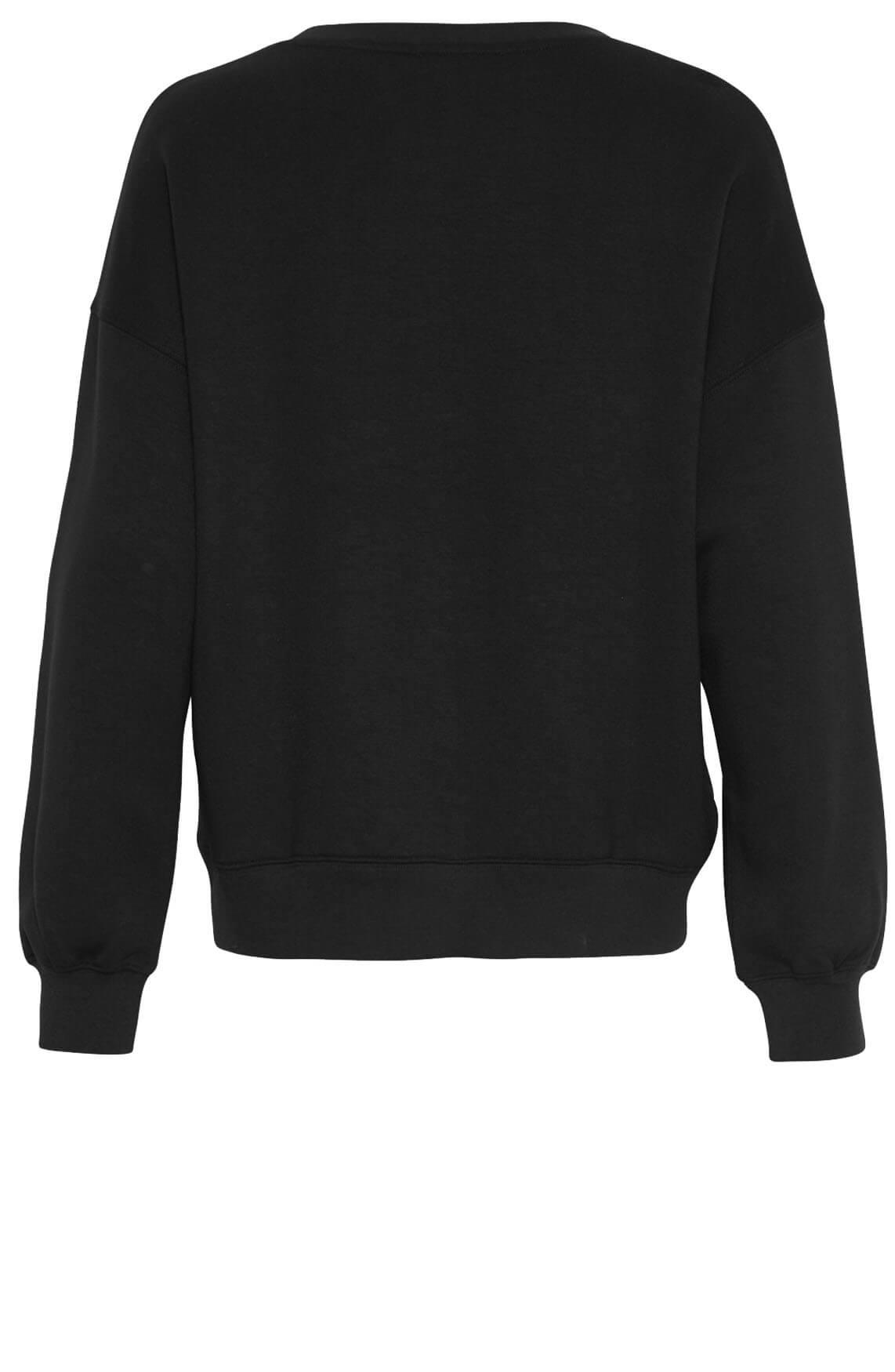 Moss Copenhagen Dames Ima sweater zwart