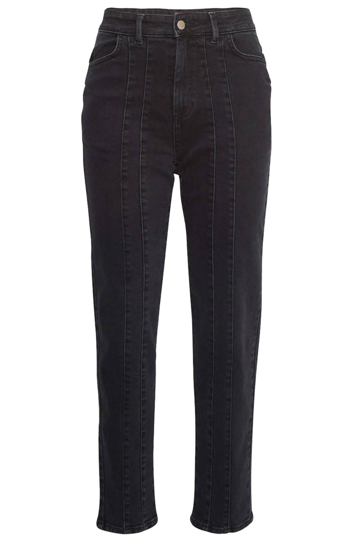 Moss Copenhagen Dames Tassa jeans zwart