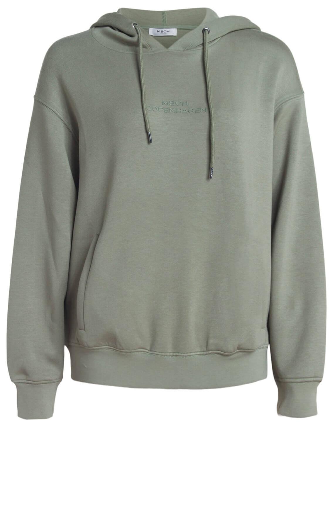 Moss Copenhagen Dames Ima hoodie groen