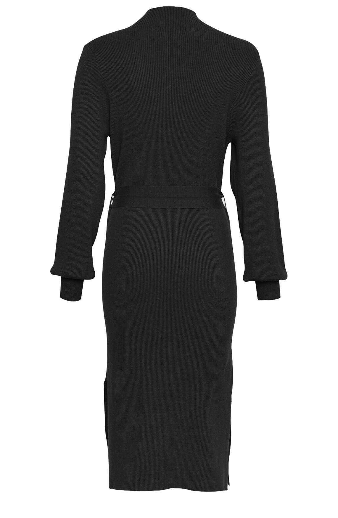 Moss Copenhagen Dames Mallory jurk zwart