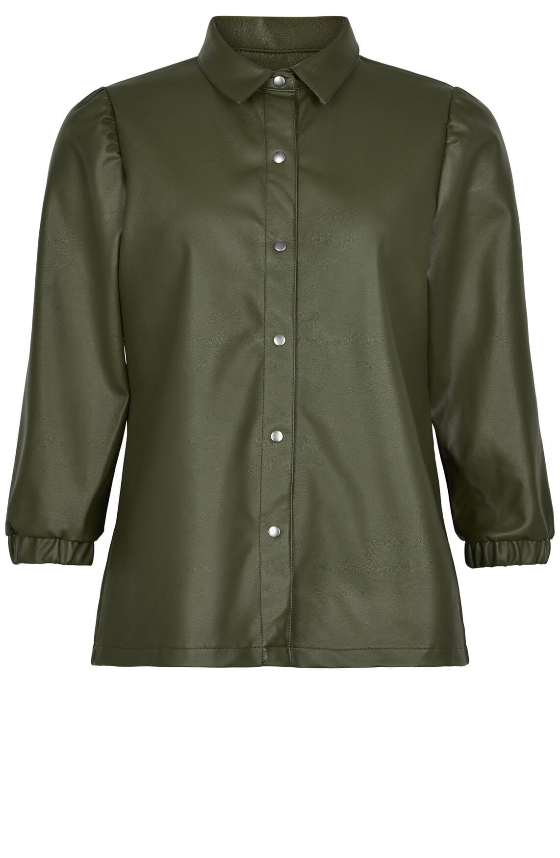 Numph Dames Belen blouse groen