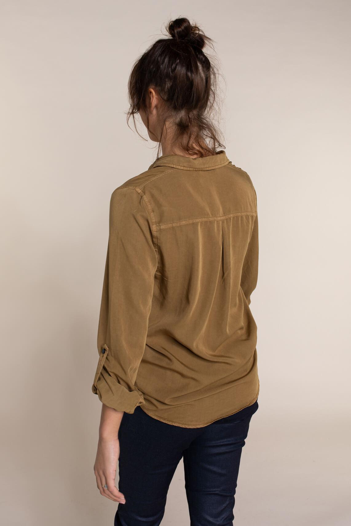 Numph Dames Bethoc blouse Bruin