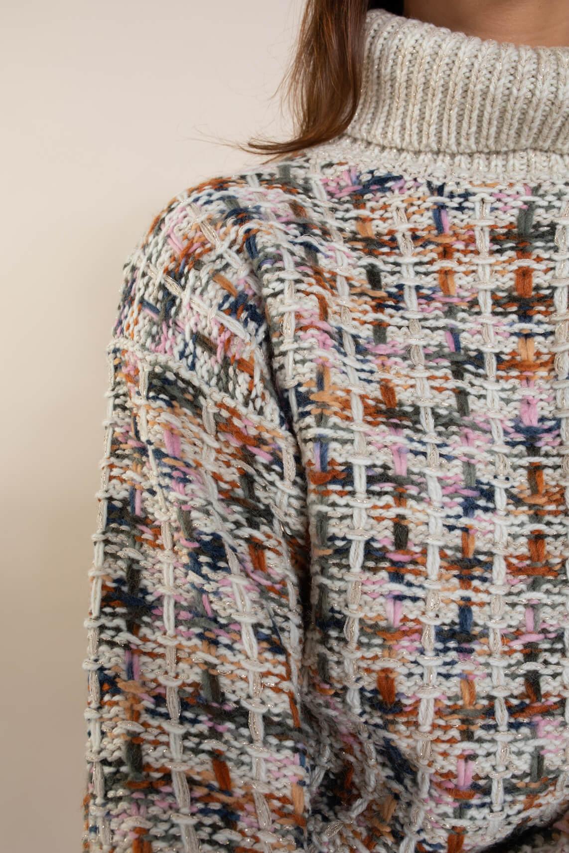 Numph Dames Batel pullover Ecru