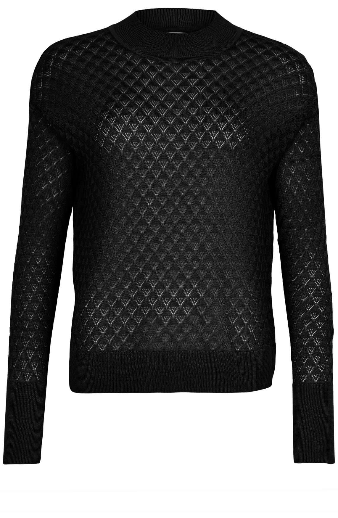 Numph Dames Becky pullover zwart