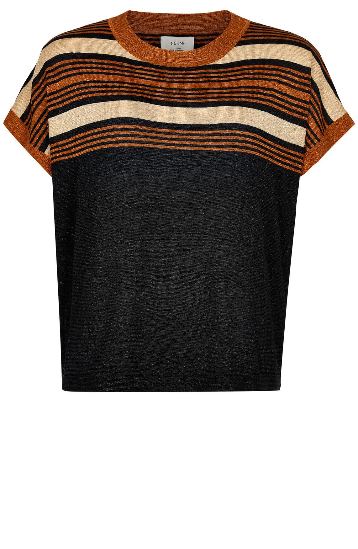 Numph Dames Bree shirt zwart