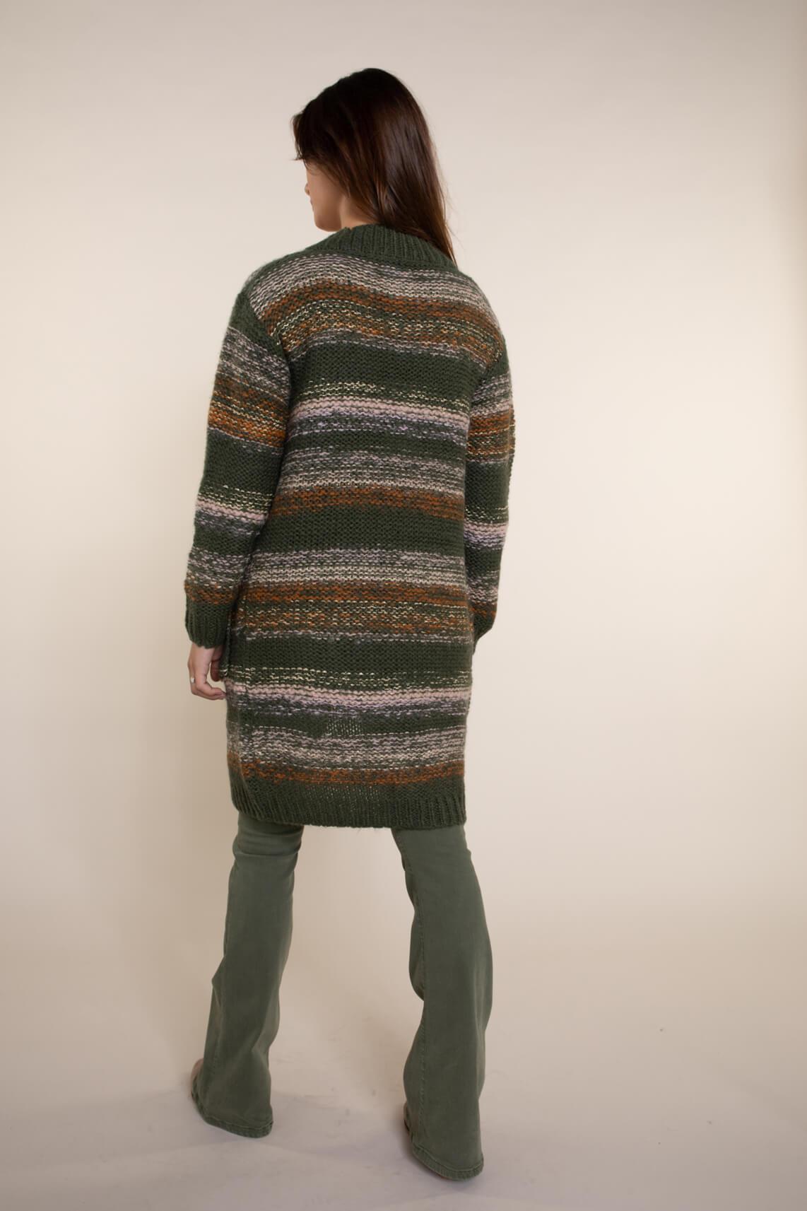 Numph Dames Charlie vest groen