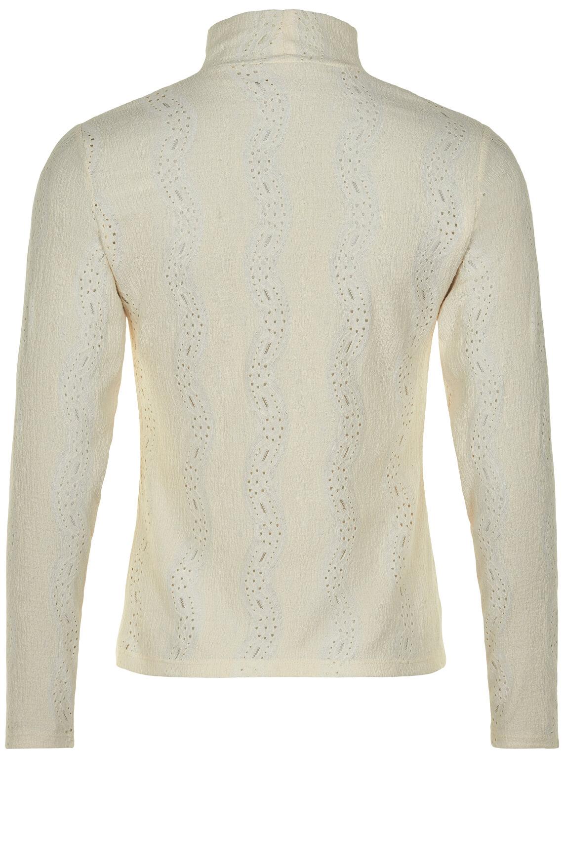 Numph Dames Briana blouse Ecru