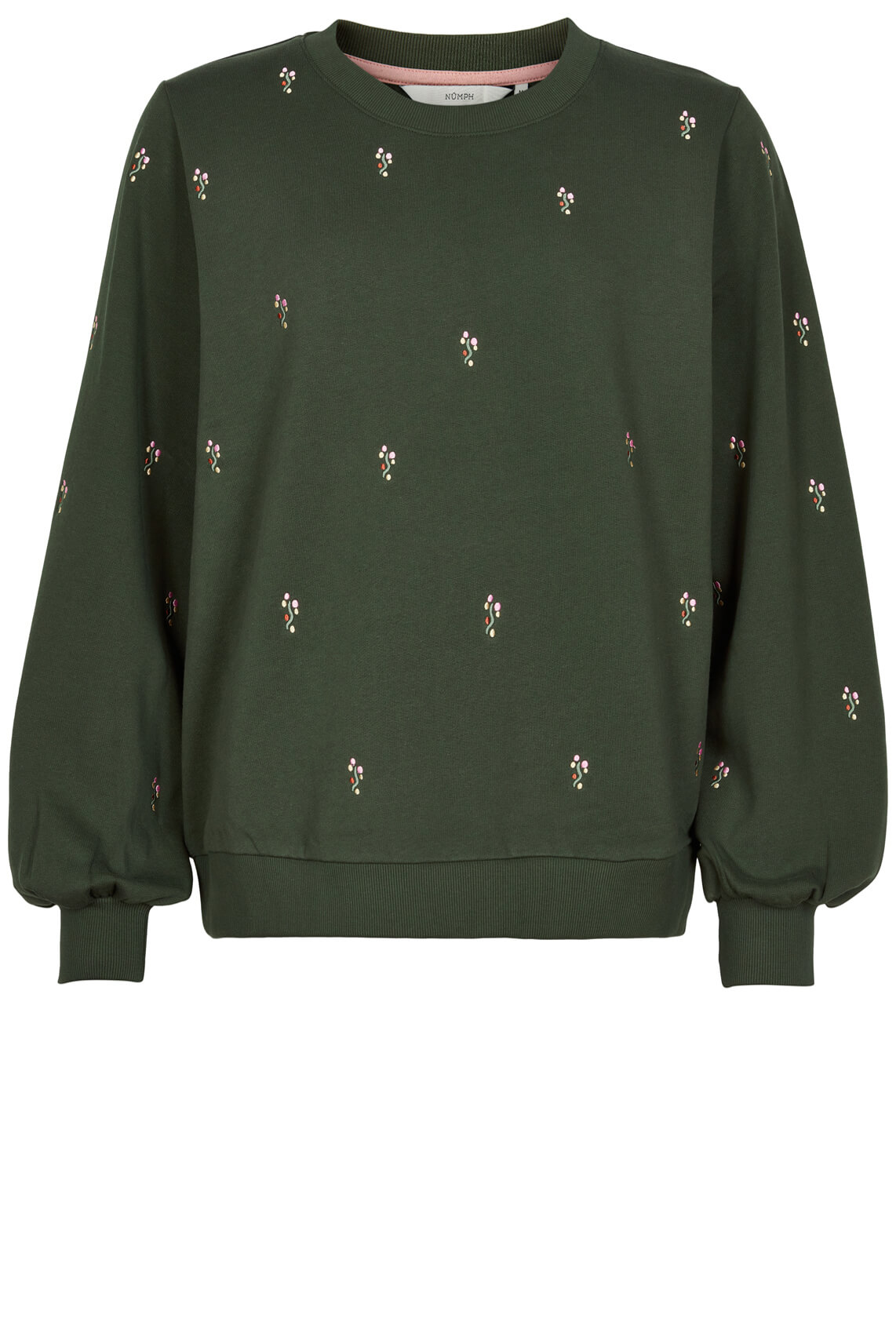 Numph Dames Brittany sweater groen