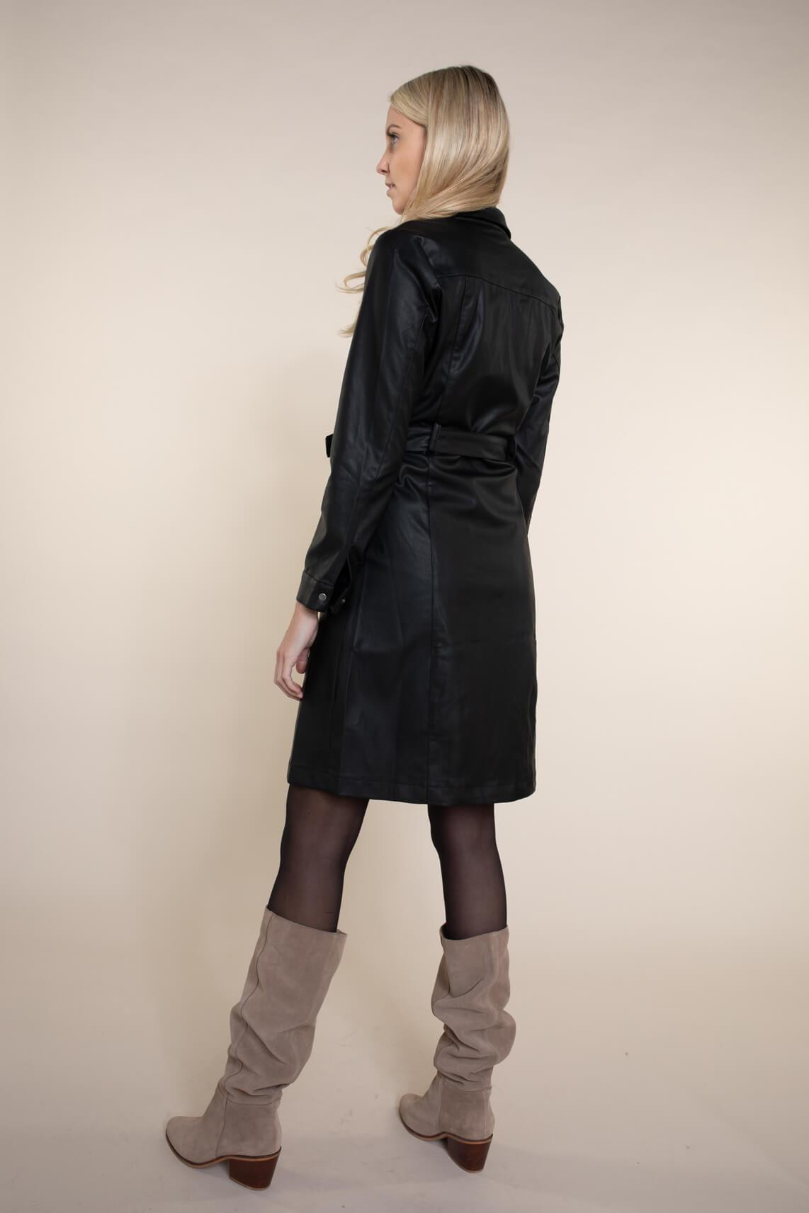 Numph Dames Belen jurk zwart