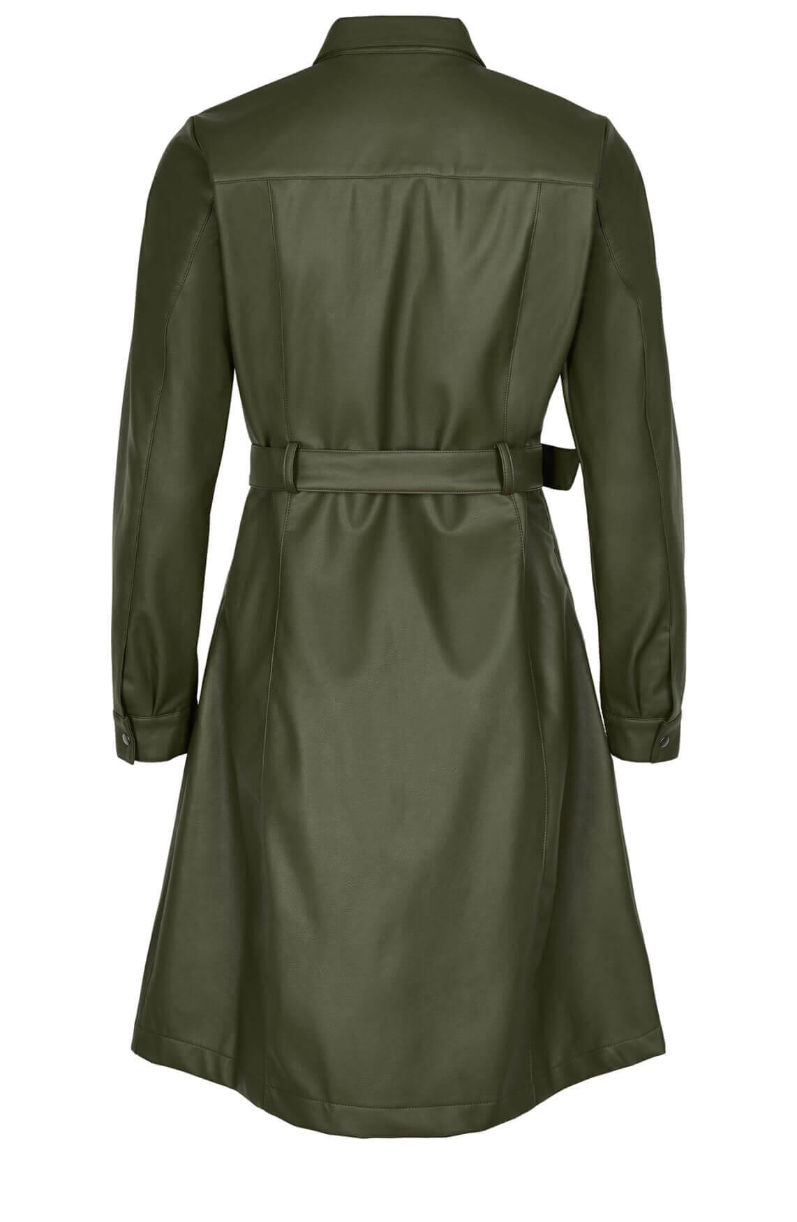 Numph Dames Belen jurk groen
