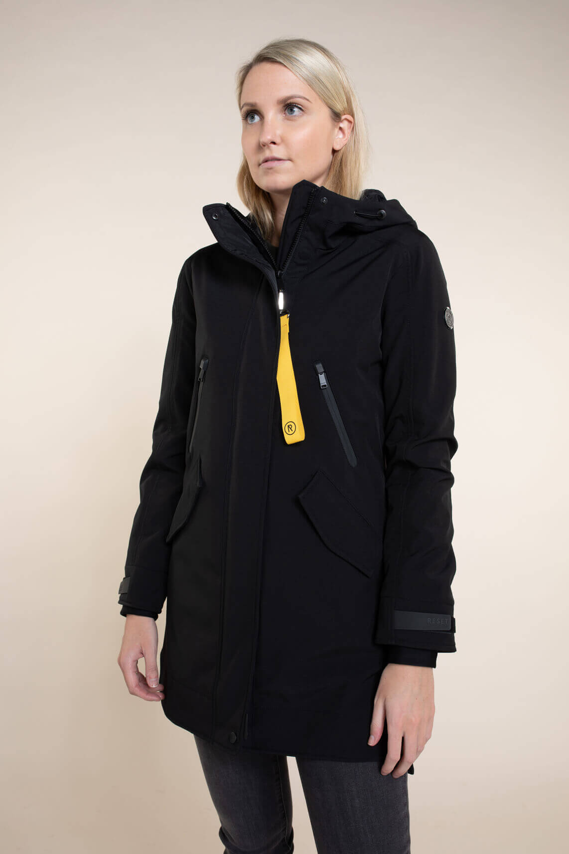 Reset Dames Mia softshell jas zwart