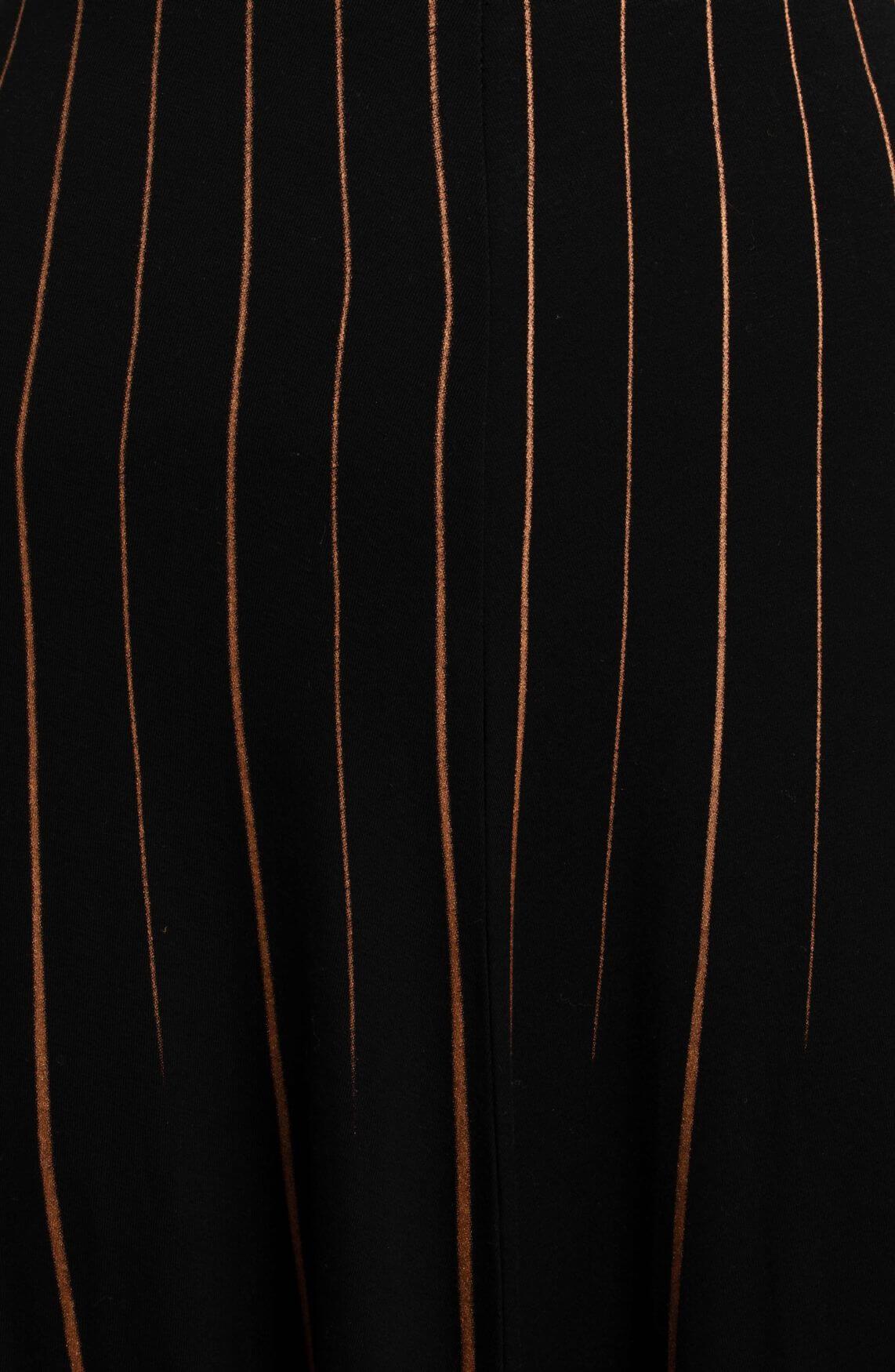 Anna Dames Rok met strepen Oranje
