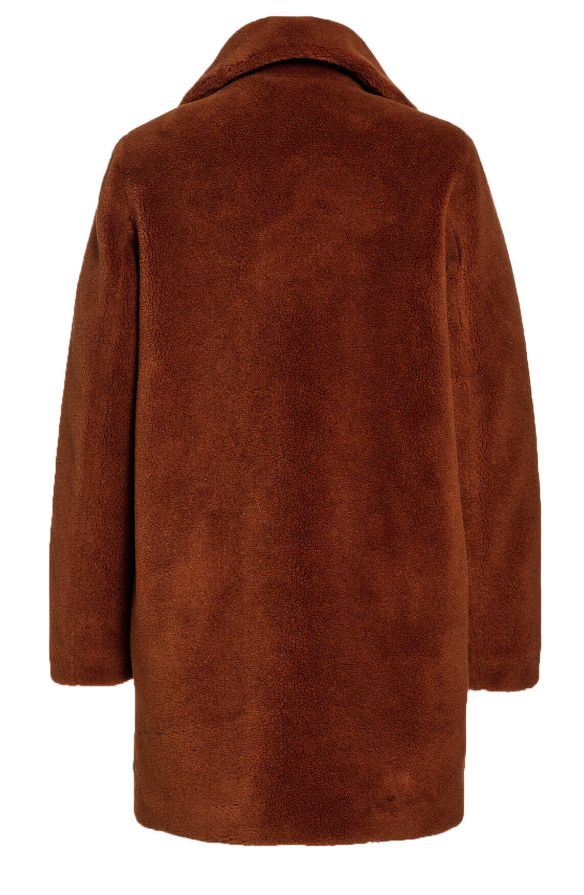 Beaumont Dames Teddy mantel Bruin