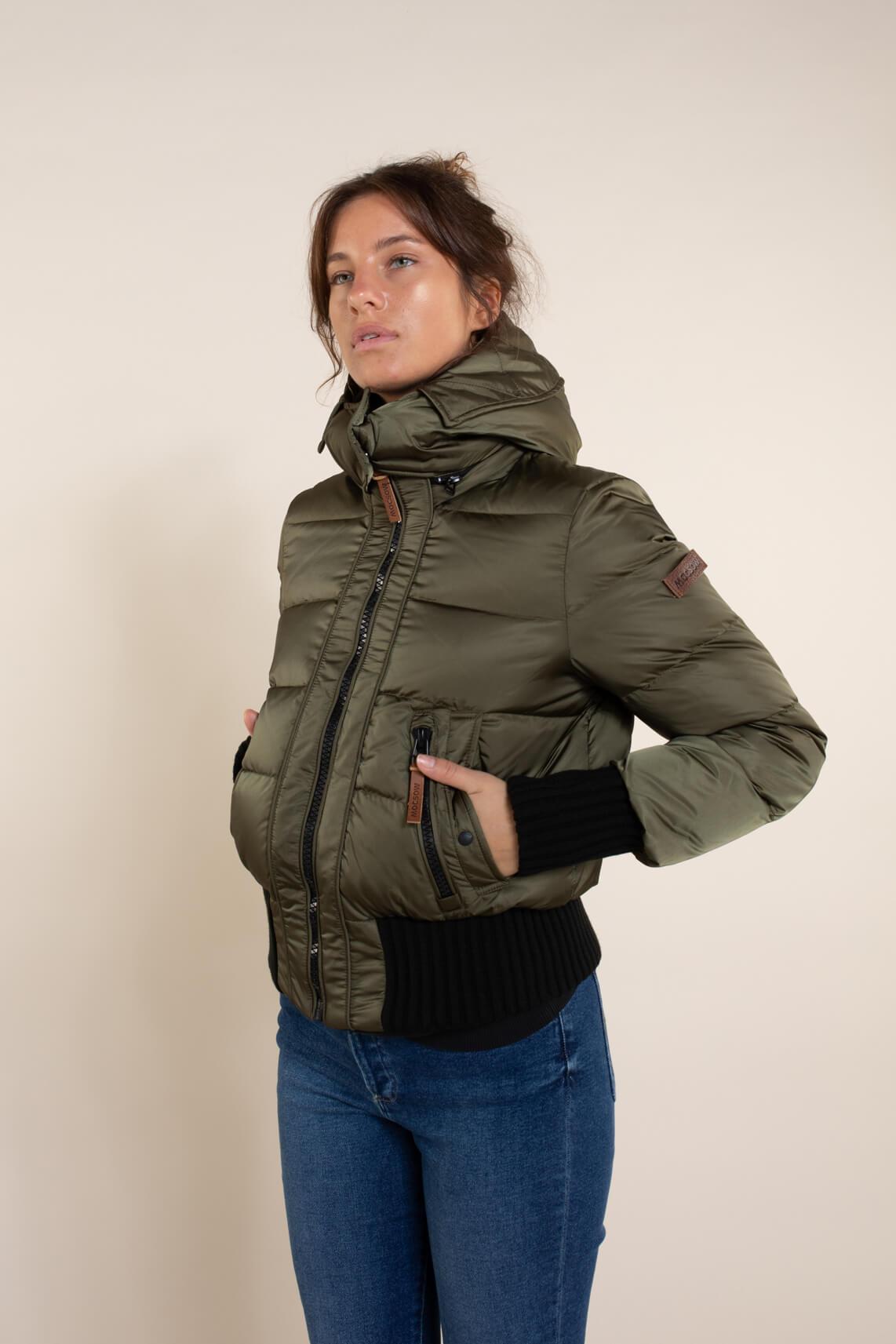 Moscow Dames Aglaya jas groen