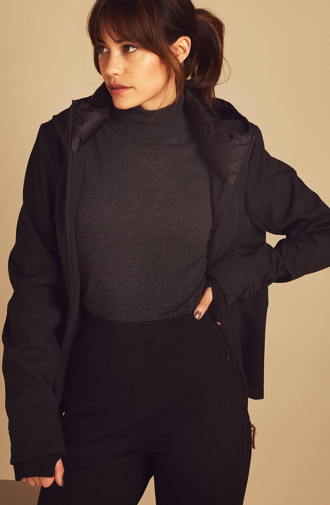Moscow Dames Baydova jas zwart