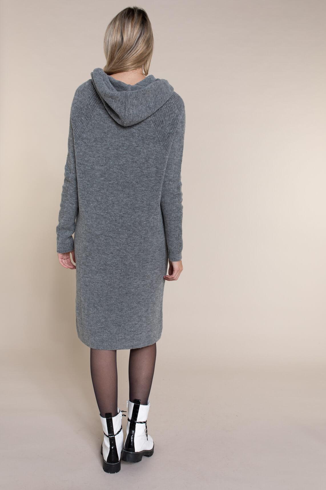Moscow Dames Jekatarina gebreide jurk Grijs