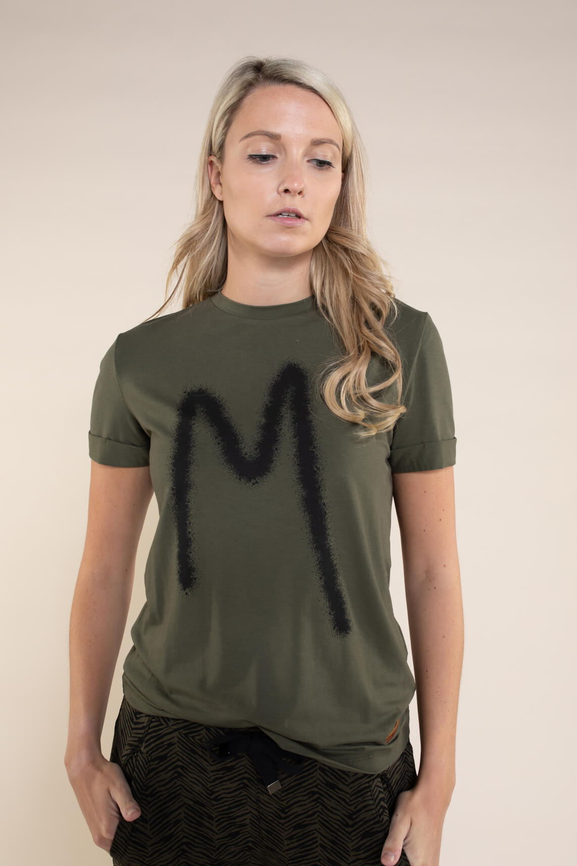 Moscow Dames Rufina logo shirt groen
