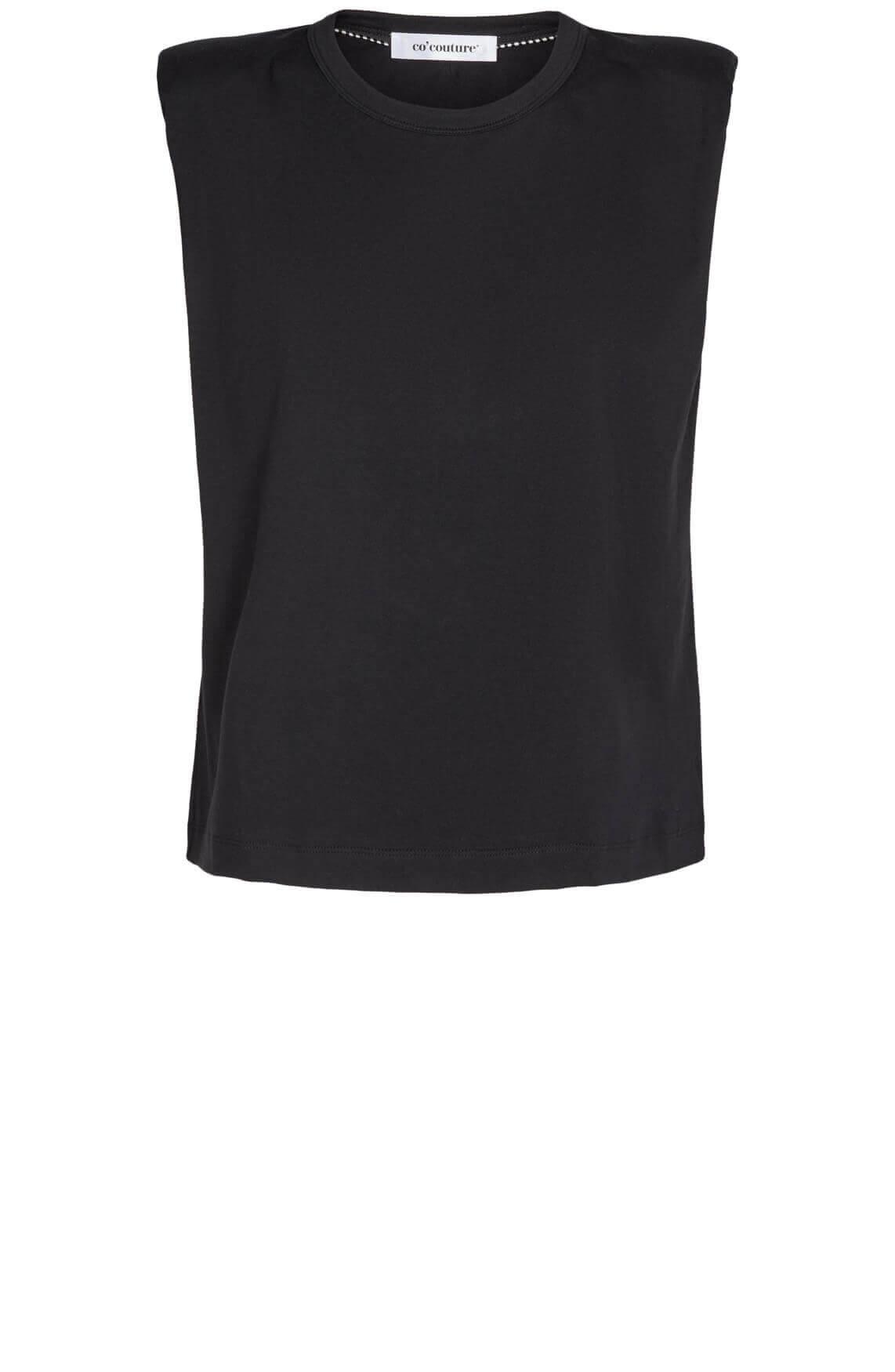 Co Couture Dames Eduarda shirt zwart