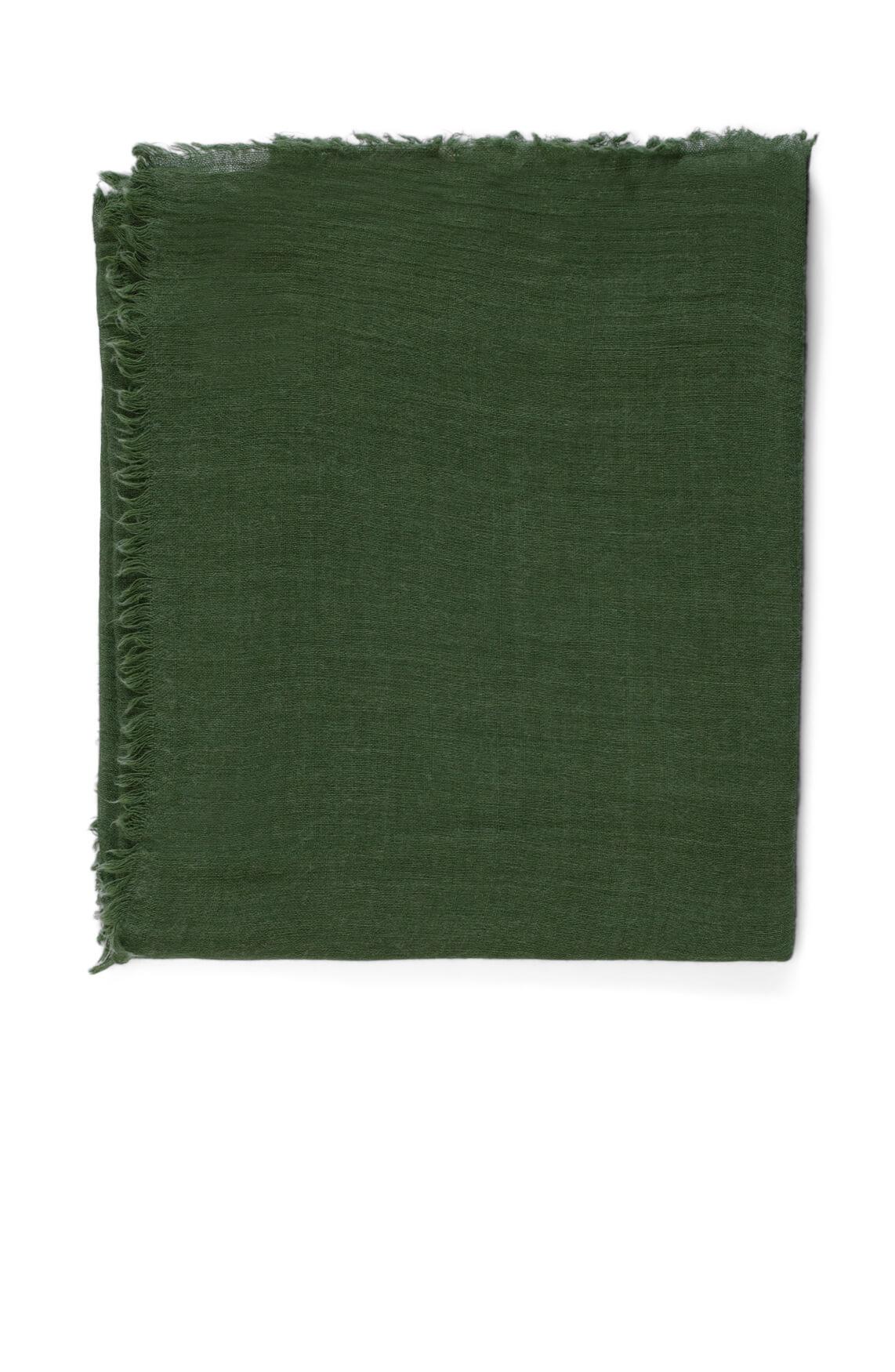 Anna Dames Shawl met wol groen