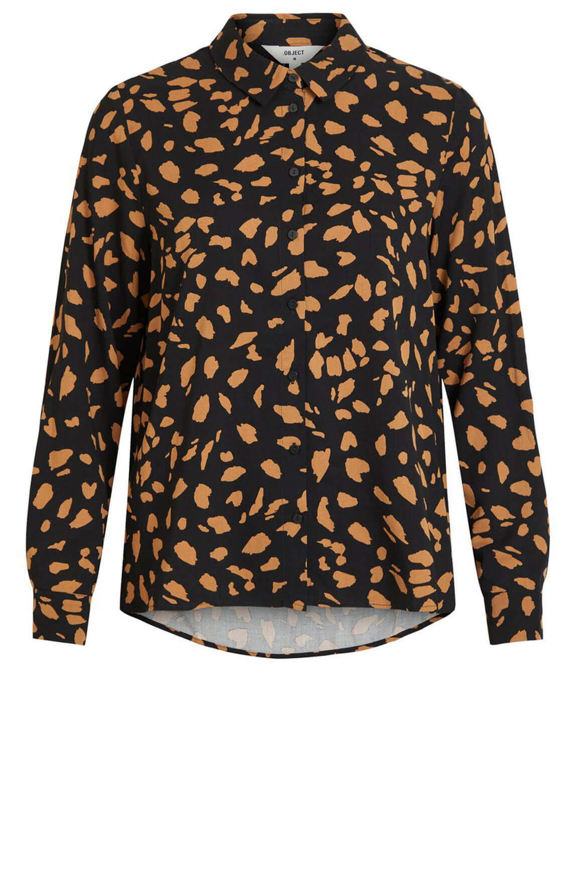 Object Dames Baya blouse zwart