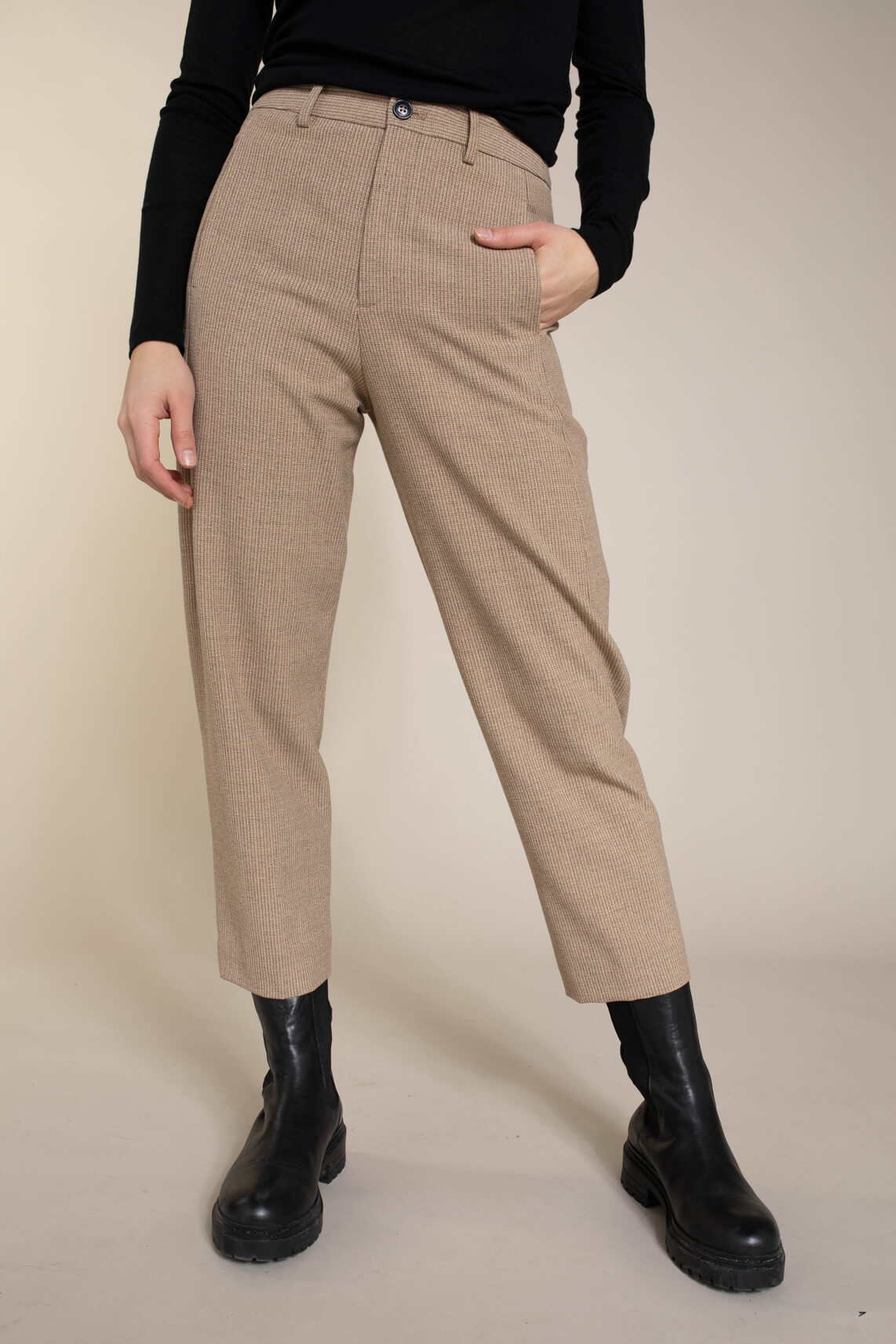 Closed Dames rechte pantalon Bruin