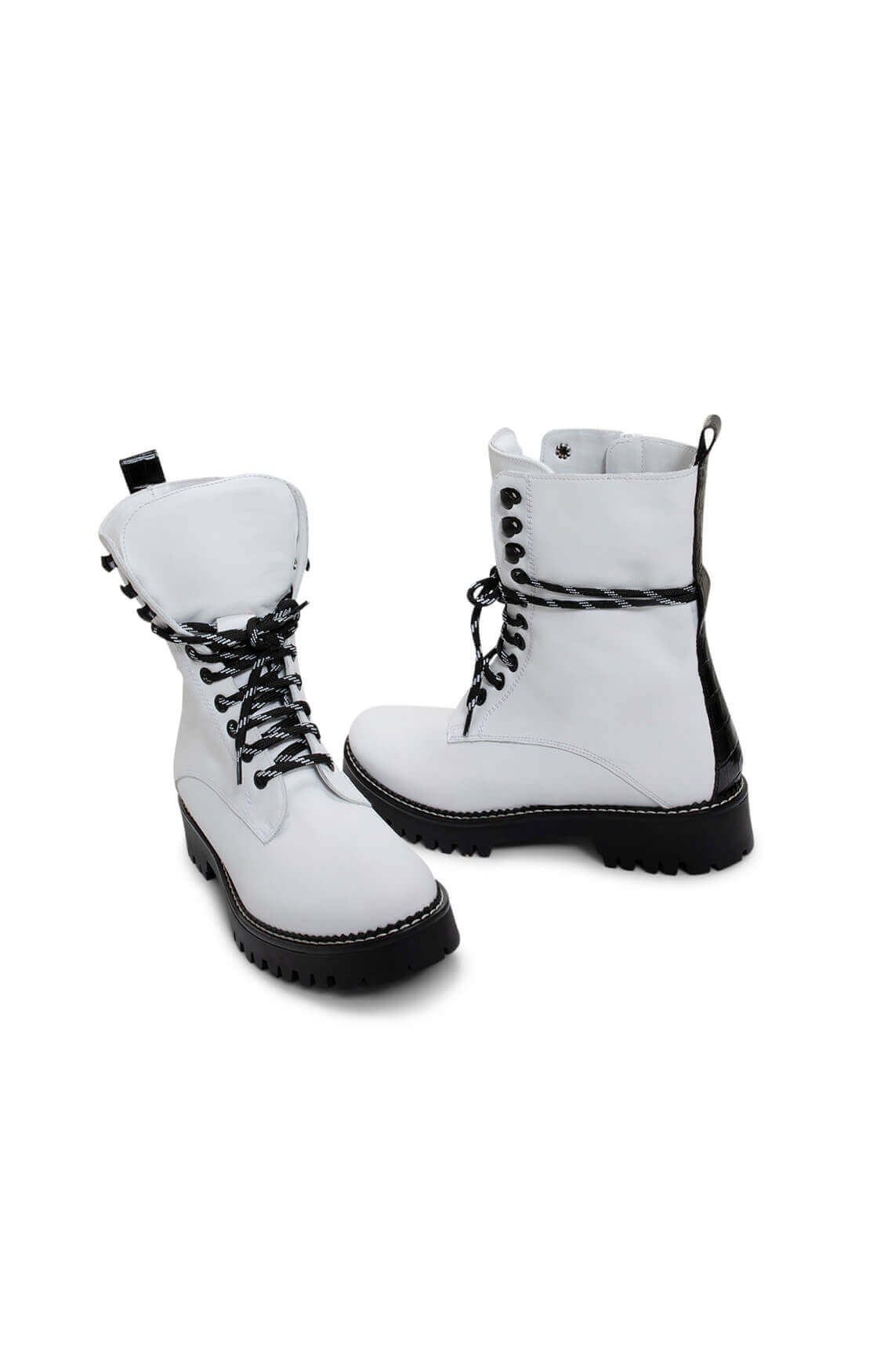 Noi Due Dames Bikerboots wit
