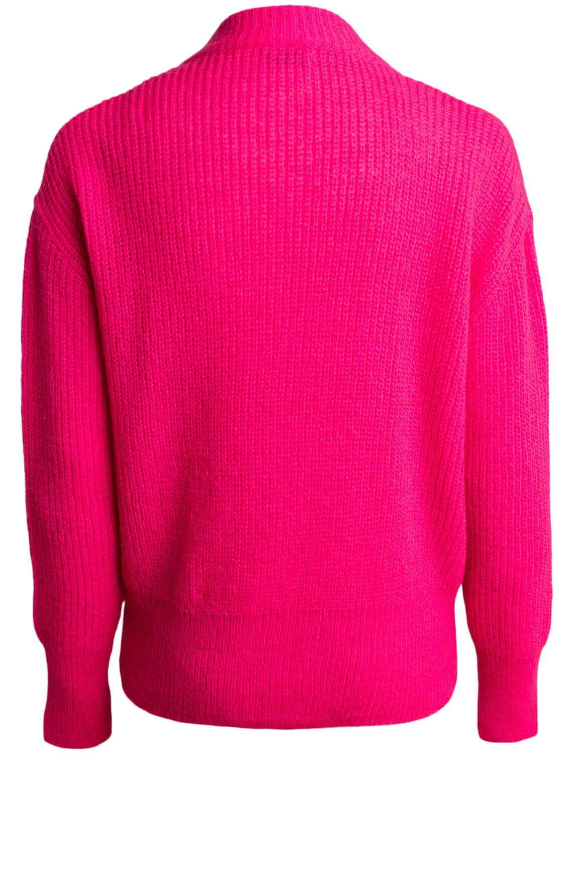 Anna Dames Gebreide trui roze