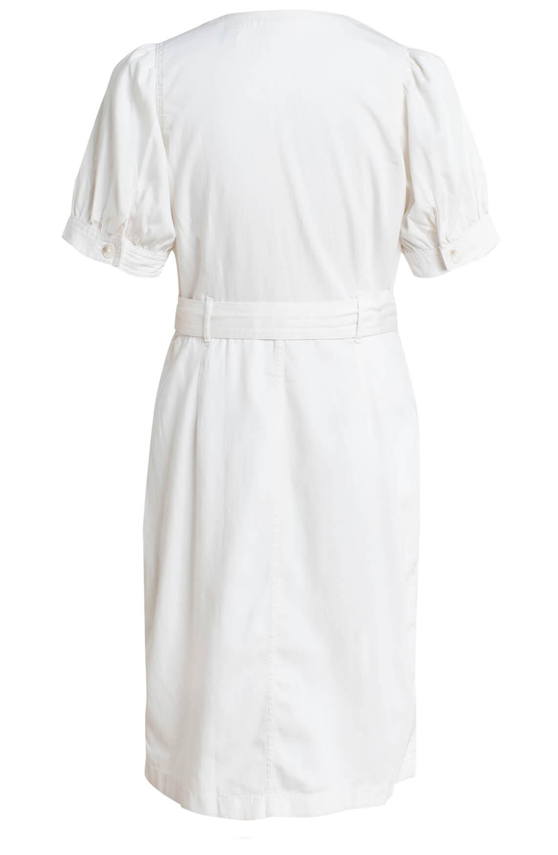 Levi s Dames Denim jurk Ecru
